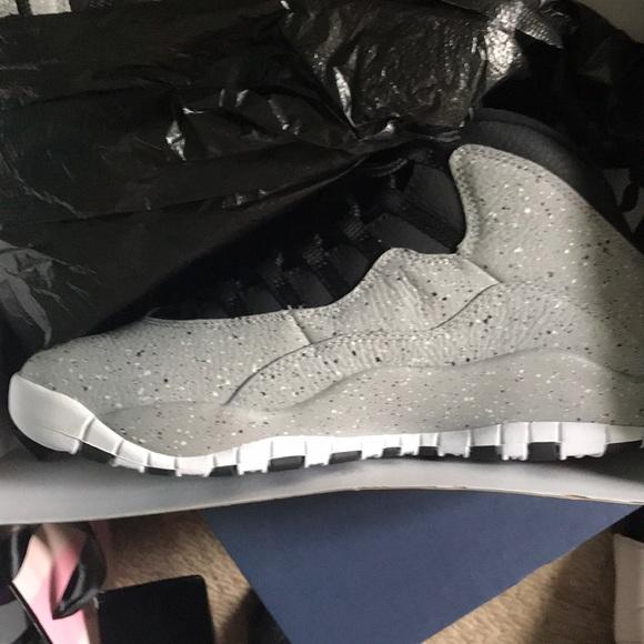 hot sales a6f26 9ddbe Men's Jordan retro 10 cement 10s NWT